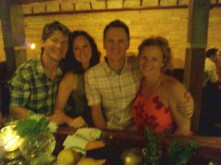 Us and the Hendricks at the Rest speakeasy in downtown Salt Lake City
