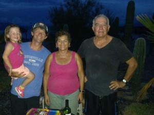Brian and Maya with Betty and Antonio Resendiz