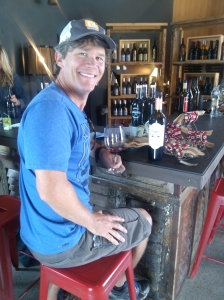 Brian at Austin Hope winery in Paso Robles