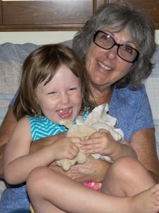 Grammie Fellner and Maya