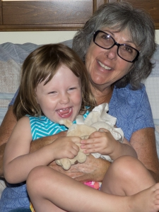 Grammie Fellner and Maya