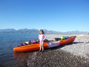 Kayaking Loreto Bay