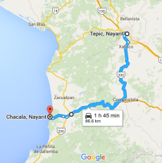 Tepic-Chacala
